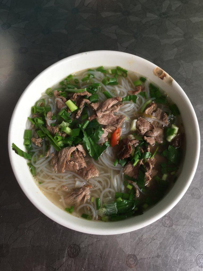 ベトナムで食べたブン